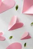 Fond de coeurs de valentines Images stock