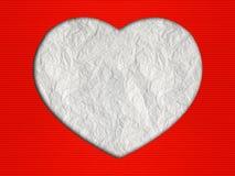 Fond de coeurs du jour de Valentine Photo libre de droits
