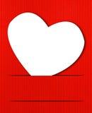 Fond de coeurs du jour de Valentine Images stock