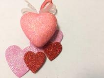 Fond de coeurs Soyez mon Valentine Photos libres de droits