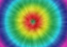 Fond de colorant de lien rétro Images stock