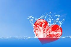 Fond de concept d'amour Photo libre de droits
