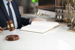 Fond de concept d'avocat Place pour le texte photo libre de droits