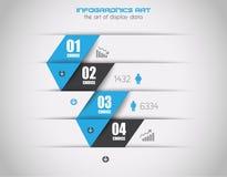 Fond de concept d'Infographics pour montrer vos données d'une manière élégante. Photos libres de droits