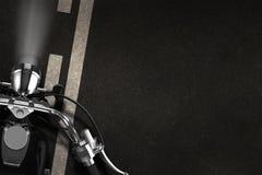 Fond de concept de moto Photographie stock libre de droits