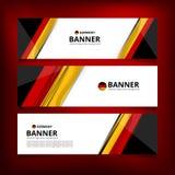 Fond de concept de drapeau de couleur de l'Allemagne Illustration Libre de Droits