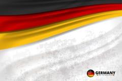 Fond de concept de drapeau de couleur de l'Allemagne Illustration de Vecteur