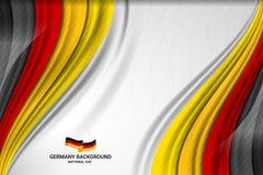 Fond de concept de drapeau de couleur de l'Allemagne Illustration Stock