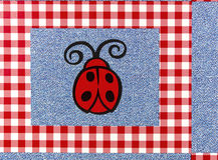 Fond de conception de plaid de tissu de métier Photos libres de droits