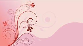 Fond de conception florale Photos libres de droits