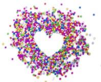 Fond de confettis   Photos libres de droits