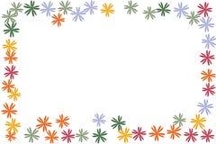 Fond de confettis de fleurs illustration stock