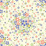 Fond de configuration de fleur Image libre de droits
