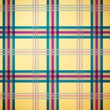 Fond de configuration de plaid de tartan Photo libre de droits