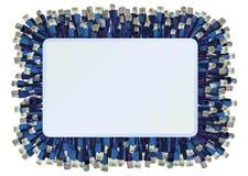Fond de connecteurs de réseau Images stock