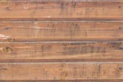 Fond de conseils en bois de brun foncé photos stock