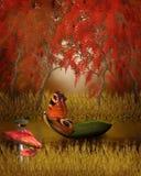 Fond de conte d'automne Photographie stock libre de droits