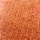 Fond de Coral Orange Abstract Low Polygon Illustration Stock