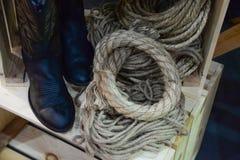 Fond de corde Photographie stock libre de droits