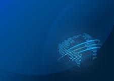 Fond de corporation bleu-foncé de vecteur Photos libres de droits