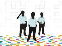 Fond de corporation coloré abstrait illustration stock