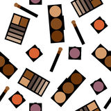 Fond de cosmétiques Illustration plate Photo stock
