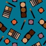 Fond de cosmétiques Illustration plate Photo libre de droits