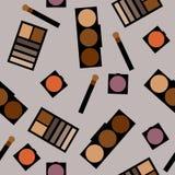 Fond de cosmétiques Illustration plate de vecteur Photos libres de droits