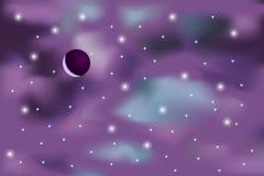 fond de cosmos Photos stock