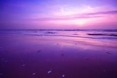 Fond de coucher du soleil Images libres de droits