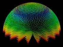 Fond de couleur illustration de vecteur