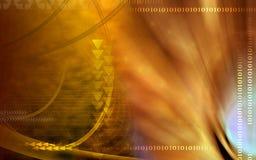Fond de couleur de sépia Image libre de droits