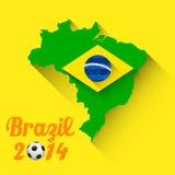 Fond de coupe du monde de la FIFA Images libres de droits