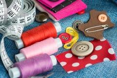 Fond de couture Photos libres de droits