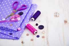 Fond de couture Photo stock