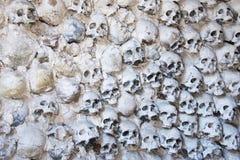 Fond de crânes Photo libre de droits