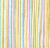 Fond de crayon de couleur Images libres de droits