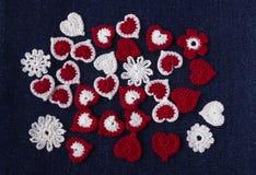 Fond de crochet Image stock