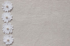 Fond de crochet Images stock