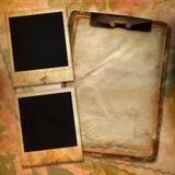 Fond de cru avec des trames pour la photo Photos libres de droits