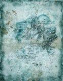 Fond de cru avec le guindineau Photo stock