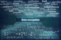 Fond 2 de cryptage des données illustration libre de droits