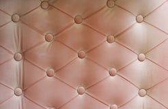 Fond de cuir de sofa de vintage Photo stock