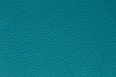 Fond de cuir de turquoise Images stock