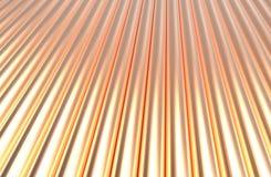 Fond de cuivre de modèle de cylindre Photos stock