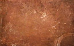 Fond de cuivre superficiel par les agents Image libre de droits