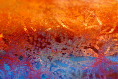Fond de cuivre texturisé Images libres de droits