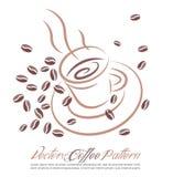Fond de cuvette de café Photos libres de droits