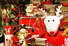 Fond de décoration de Noël Images stock