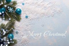 Fond de décorations de Noël image libre de droits